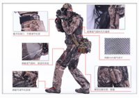 hunting clothes - NEW ARRIVE Spring Autumn REMINGTON fishing hunting suit set Camo hunting clothing set jacket and pant C202