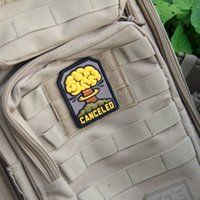 activity patches - Badge EDC Gear outdoor activity CANCELED D RUBBER PVC TACTICAL FALLOUT ARMY ISAF MORALE MULTICAM PATCH
