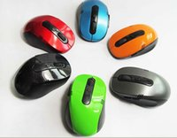 Wholesale Portable Optical Wireless Mouse USB Receiver RF G For Desktop Laptop PC Computer Peripherals Accessories