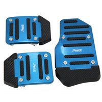 Wholesale Metal Plastic Nonslip Pedal Cover Set Brake Pedal Covers for Car Truck Pack of Blue