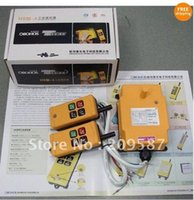 Wholesale 2 Transmitters Motion Speed Hoist Crane Truck Remote Control System VAC