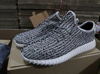 Wholesale 2016 Kanye West boost shoes Moonrock Turtle Dove mens Womens Running sporting Athletic shoes sneakers With boxes