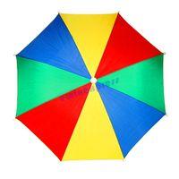 golf bucket hat - Multi Colour Novelty Foldable Outdoor Sports Golf Fishing Hunting Camping Sun Brolly Umbrella Bucket Hat Cap
