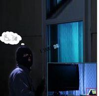 Wholesale Fake Tv LED Light Built in Light Sensor and Timer Burglar Deterrent Home Security TV Sensor EU UK US Plug carton