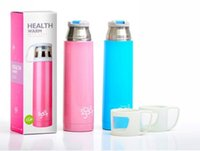 steel water bottles - 2014 hot sell colors stainless steel Bullet Vacuum travel mug warming water bottle water bottler