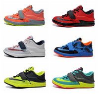 kids kevin durant shoes - 2015 New Best Kd Kevin Durant Kids Basketball Shoes Kd Sneakers Size With Tick
