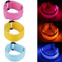 american traditional dance - LED Light Glow Glowing Wristband Bracelet Disco Party Street Dance Bar