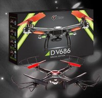 aircraft marketing - JJRC V686G black FPV with real time aerial aircraft four aircraft of the new packaging market