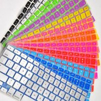 Wholesale 500pcs By DHL FEDEX Silicone Keyboard Cover For Apple Macbook AIR PRO RETINA quot quot quot quot quot US English Keyboard Protector