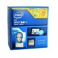 Wholesale DHL Intel Core i3 i3 Dual core Core GHz Processor Socket H3 LGA Retail Pack BX80646I34170