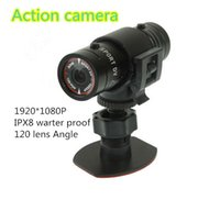 Wholesale 2015 hot sell goproF9 warterproof mini video camera HD P Portable outdoor F9 action camera with Mega Pixels