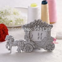 achat en gros de chariot antique-Antique Resin Cadres photo chariot de mariage Place Card Holder Photo 1202 # 02