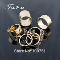 bague color - Gold Color Alloy Knuckle Ring Set For Men Bijoux Women Fashion Designer Jewelry Bague Acessorios