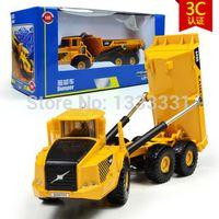 big dumper - big size high quality alloy Engineering Vehicle model children toy cars dumper truck in box