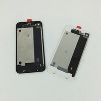 Wholesale For iPhone G S Back Glass Battery housing back cover Replacement white Black