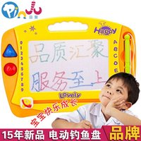 Wholesale Europe Rui educational toys children toys cartoon drawing board WordPad color magnetic drawing board graffiti