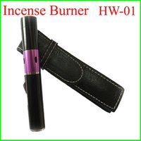 Wholesale Hot Middle East Incense Burner pen Click N Vape lighter Sneak a Vape Vaporizer Smoking Metal Pipe Neak a Toke Butane Lighter Retail Package