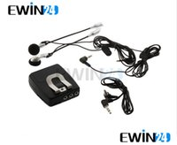 Wholesale Motorbike Motorcycle Helmet Audio Intercom Headset With Audio Input Plug Ipod MP3 sets