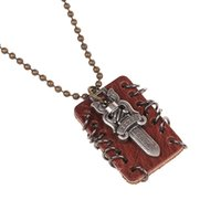 bibles for sale - 2015 New HOT Sale Fashion Jewelry Men s copper alloy Bible and Cross Pendant Charms Bead Chain Necklace for men women gift