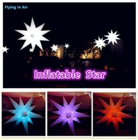 air star lighting - 1 m m m Party and Event Decoration Inflatable Air Star with Color changable Light