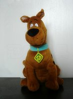 Wholesale Scooby Doo Dog Toys - Wholesale-35cm Soft Plush Cute Scooby Doo Dog Dolls Stuffed Toy New Christmas Gifts