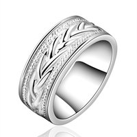 Wholesale 20pcs New Arrival Fashion Simple Silver Ring For Women Party Wedding Engagement Gift Jewelry anel aneis W0114