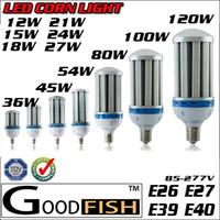 Wholesale High Lumen LED E26 E27 E39 E40 Led Corn Light Bulb Lamp w w w w w w w w w w w Garden Warehouse Parking Lighting