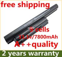 sony vaio laptop - BEST NO CD New CELLS laptop battery For SONY VAIO VPC E1Z1E VAIO VPC EA1 VPC EA12EA BI VPC EA12EG WI VGP BPS22 VGP BPS22A