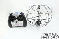 Wholesale Large Size Robotic UFO Channel I R Flying Ball RC Helicopter With Gyro