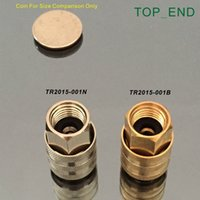 Wholesale Open End Flow Through Original Brass Air Chuck Lock On Quick Connect Brass Stem Work w Tire Valve Stem