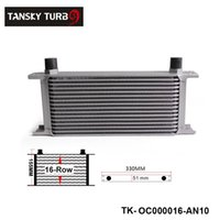 Wholesale Tansky Hotsale British Type Row Oil Cooler AN For Universal With No Logo have in stock TK OC000016 AN10 H Q