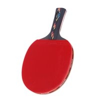 Wholesale 1PC Rubber Table Tennis Racket Pingpong Paddle Bat Case Bag for Sports Fitness Gym Black Red with Racket Bag
