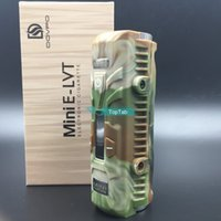 Wholesale Authentic Dovpo Mini ELVT W E Cig Box Mod Waterproof Anti Pressure Mechanical Mod Mod E LVT Mini Vs Sigelei Mini W iTaste MVP V3