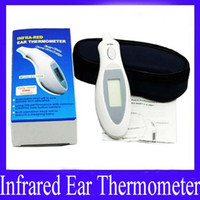 baby meter - Mini IR Infrared Medical Baby Kids Adult Body Thermometer Ear Themperature Meter ET B MOQ