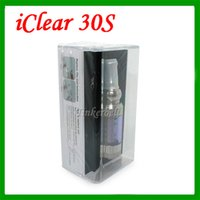 Cheap Iclear 30s Atomizer Tanks Replaceable Ic 30s Coils I Clear 30s Clearomizers Fit For Itaste MVP 2.0 3.0 VTR DHL Free