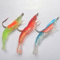 Wholesale Bionic Shrimp Baits Fishing Equipment mm g Fishing Hooks Fishing Lures Bait Tackle Outdoor Necessity