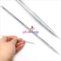 Wholesale New Stainless Steel Blackhead Remover Cleaner Tool Acne Pimple Spot Extractor Pin