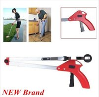 Wholesale Foldable Pick Up Grabber Long Arm Gripper Reacher Kitchen Litter Help Hand Home Clean Piler new arrve