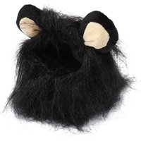best dress up clothes - 2015 New Best Promotion Hot Sale Cool Pet Costume Mane Wig For Cat Halloween Clothes Fancy Dress up With Ears