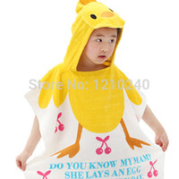 Wholesale New Cotton Soft Children s Bathrobes Lovely Animal Style Baby Favorite Fashion Beach Bath Towel made in china