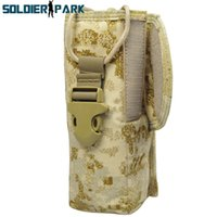 Wholesale New Arrival Fabric PRC Molle Radio Pouch Walkie Talkie Case Safety Portable Army Military Radio Holder PenCott SandStorm order lt no tra