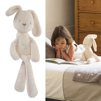 baby papa games - Retail Mamas Papas Rabbit Plush Toys Sleep Appease Kawaii Cartoon Bunny Stuffed Animals Toy Mamas Papas Stroller Doll Baby Toys Gift cm