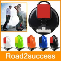 Wholesale NEWEST Electric Unicycle self balancing wheelbarrow one wheel monocycle sports electric bicycle DHL