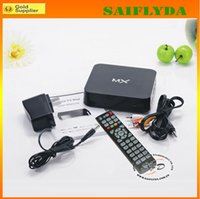 Wholesale Android TV Box Support Systems XBMC Youtube AMLogic MX Android TV Box in Store