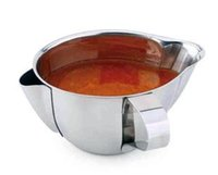 Wholesale 304 stainless steel sauce boat thick grease cup grease trap compartment oiler ship soup pot soup