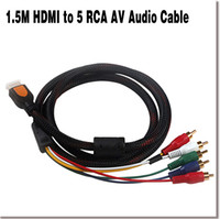 av input - NEW M HDMI to RCA AV Audio Video Component Cable Wire HDMI HD Player to HDTV with RCA Input