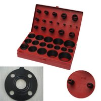 Wholesale 419 Silicon Gaskets Assorted O Ring Rubber Oring Seal R to Kit Set Assortment Set Kit Garage Plumbing With Case