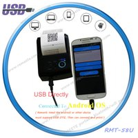 Wholesale 2inch Small USB printer battery powered receipt printer for Windows Andriod with computer driver support logo barcode printing
