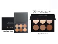 Cheap 2016 New hot sale make-up Face Anastasia CONTOUR KIT Bronzers & Highlighters 3 colors Chrismas Gift by dhl