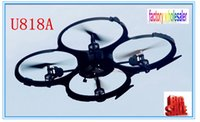Wholesale Factory wholesaler Four channel remote control airplane aerial UdiR C U818A six axis axis rotor aircraft flying saucer UFO drones